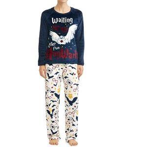 NEW Harry Potter Super Minky Plush Pajama Set